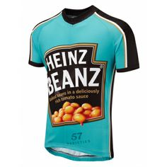 Beanz Road Cycling Jersey  Beanz are Britain's most popular food source and they also make a great cycling top too! Beanz Meanz Heinz Meanz Foska!