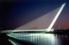 The Alamillo Bridge in Valencia