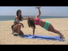 Stronger abs requires a stronger back. Toneitup girls show us how!