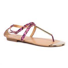 pink leopard sandals <3 (rawr!)