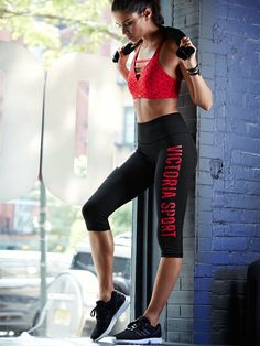 """modelmylove: """"Sara, outfit, and perfection love. """" - Fitness Women's active - http://amzn.to/2i5XvJV"""