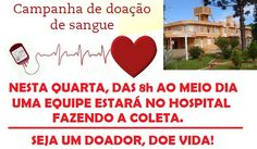 BLOG LG PUBLIC: Hospital Santo Antonio Fara coleta de sangue, tipo...