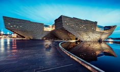 The V&A Dundee, which is Scotland's first design museum, will open tomorrow, September It was designed by Japanese architect Kengo Kuma, who used cutting-edge modelling tools to Kengo Kuma, Museum Architecture, Japanese Architecture, Modern Architecture, Walter Gropius, Victoria And Albert Museum, Design Museum, Edinburgh, Dundee City