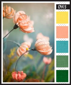 Lizzy B Loves visual + sparkle = color : Soft hues w/ Emerald Green for a Spring Celebration #color_palette #wedding_color_inspiration #wedding_colors