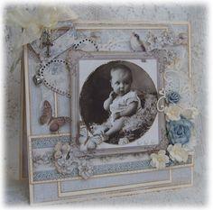 ScrappEllen: Et Dåpskort til gutt♥