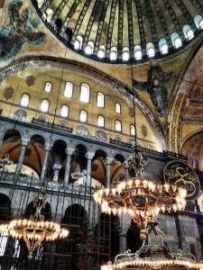 Haggia Sophia, Istanbul, Turkey #vacation #visit #Istanbul #Places #travel