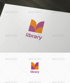 Book #Logo - Download : https://graphicriver.net/item/book-logo/985195?ref=pxcr