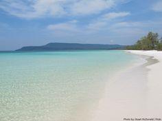Cambodia beach