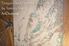 copper painting #artdivas_
