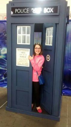 I'm inside the TARDIS!!!!!!