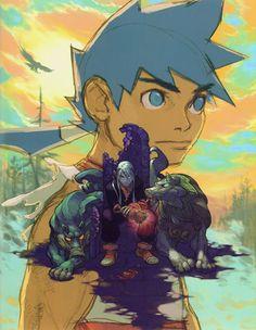 Ryu & Fou-lu - Characters & Art - Breath of Fire IV