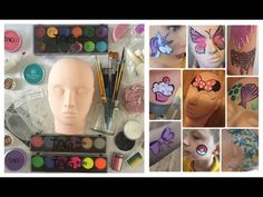 Great face painting supplies &  kit + Product infos - Face Painting Made Easy PART 1 - YouTube