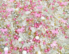 Unicorn shaped Sprinkles ™. Unicorn sprinkles, Unicorn party, Unicorn cake sprinkles, Unicorn cake, Unicorn sprinkles australia, Unicorns. Unicorn Sprinkles, Fancy Sprinkles, Sugar Sprinkles, Rainbow Sprinkles, Cupcake Wars, Cupcake Frosting, Baby Unicorn, Unicorn Party, Disco Dust