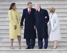 6 Photos Of Michelle Obama & George W. Bush's Friendship That Rises Above Politics