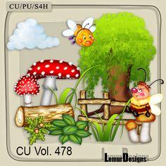 CU Vol 478 Summer Forest Flowers