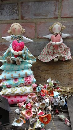 Christmas Craft Fair, Unique Christmas Ornaments, Handmade Ornaments, Christmas Angels, Diy Angels, Angel Crafts, Sewing Dolls, Fabric Dolls, Craft Fairs
