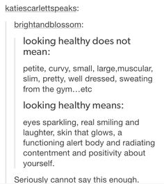 But some people want to be muscular and whatever else - and that's okay. As long as they're doing it in a healthy way. Look Here, Pretty Words, Faith In Humanity, Stress, Life Advice, Fett, Self Improvement, Inspire Me, Self Love