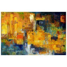 Wall Décor Sunset Painting Print on Wrapped Canvas
