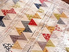 Zig Zag quilting by http://jerisew.blogspot.com/