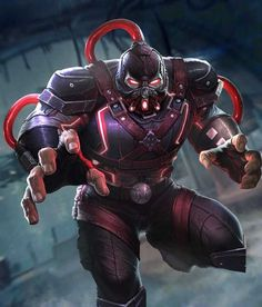 Bane from Injustice 2 Mobile Bane 5 Comic Book Characters, Comic Book Heroes, Comic Character, Character Design, Comic Books, Marvel Vs, Marvel Comics, Injustice 2 Characters, Teen Titans Starfire