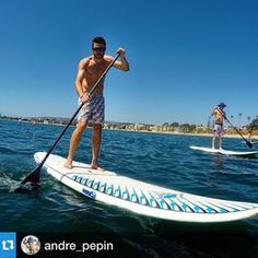#Repost @andre_pepin・・・Had some fun hanging out with my sister @lexypep while she was in town this weekend. Also stoked to try out my new @aztekpaddles stand up paddle that my work has finally brought to market as another company under BST NANO which al