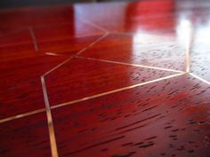 How to Add Metal Inlay to Wood