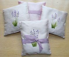 Futopia's Own Handpainted Lavender Sachet by Futopiaco on Etsy, $8.00