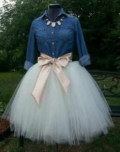 tutu with bow More