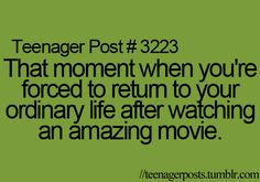 I just feel like watching that movie over and over and over again!!!!!