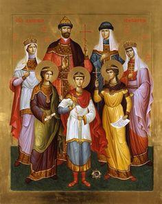 Czar Nicholas II and his family.