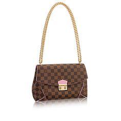 Louis Vuitton Caissa Clutch Damier Ebene N41597 Handbags
