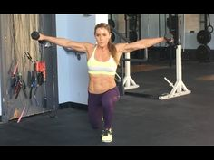 Shoulder Workout   Total Body Fitness   Sarah Grace Fitness - YouTube