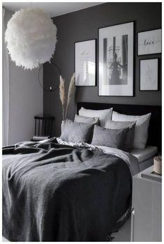 Luxury Bedroom Sets, Luxurious Bedrooms, Romantic Bedrooms, Room Ideas Bedroom, Home Decor Bedroom, Bedroom Furniture, Bedroom Designs, Ikea Bedroom, Cosy Bedroom