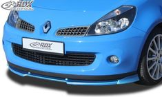 LK Performance RDX Front Spoiler VARIO-X RENAULT Clio 3 RS Phase 1 Front Lip Splitter The Body Shop, Mud, In The Heights, Lips, Sporty, Racing, Running, Auto Racing