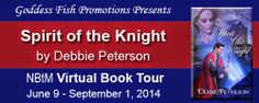 Spirit of the Knight by Debbie Peterson #Interview & More | A Book, A Beer, & A Dream