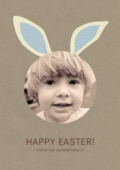 Osterkarten basteln Happy Easter personlisierte Osterkarte www.meinesvenja.de