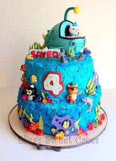 Thats such a cute Octonauts Cake!