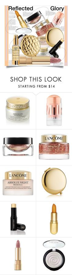 """""""Reflected Glory: 2018 Beauty Editor's Pick"""" by helenaymangual ❤ liked on Polyvore featuring beauty, Lancôme, MILK MAKEUP, Butter London, Estée Lauder, Dolce&Gabbana, Winky Lux and Laura Geller"""