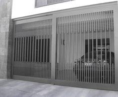 Resultado de imagen para antejardines de casas modernas en forja