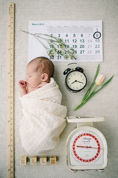 Spring Newborn Photos by Corrina Walker Photography