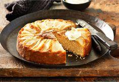 Pear tea-cake