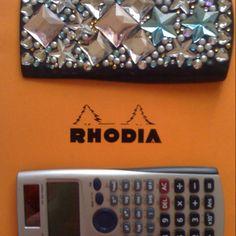 note & calculator