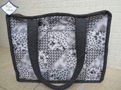 Bolsa em patchwork - muito útil!