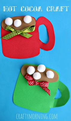 Crafts for Kids Christmas Crafts for Kids. More than 20 crafts and activities for the Holidays.Christmas Crafts for Kids. More than 20 crafts and activities for the Holidays. Kids Crafts, Mug Crafts, Daycare Crafts, Winter Crafts For Kids, Classroom Crafts, Party Crafts, Winter Activities For Kids, Christmas Crafts For Preschoolers, Simple Christmas Crafts
