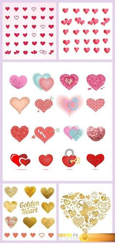 Heart and Love Labels and Icons #2 5X EPS http://www.desirefx.me/heart-and-love-labels-and-icons-2-5x-eps/