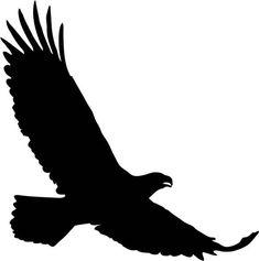 Large Soaring Eagle for patterns. Silhouette Tattoos, Silhouette Painting, Silhouette Clip Art, Silhouette Images, Animal Silhouette, Mandala Lobo, Adler Silhouette, Eagle Drawing, Crows Drawing