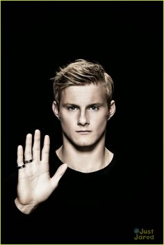 Alexander Ludwig Support For Bulgari's Save The Children Campaign