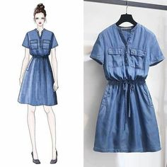 Teen Fashion Outfits, Girl Fashion, Casual Outfits, Fashion Design Drawings, Fashion Sketches, Korea Fashion, Asian Fashion, Fashion Drawing Dresses, Fashion Dresses