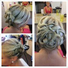 Chanel's beautiful work... Hair as art