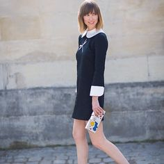 who doesn't love a white collared #schoolgirl dress?